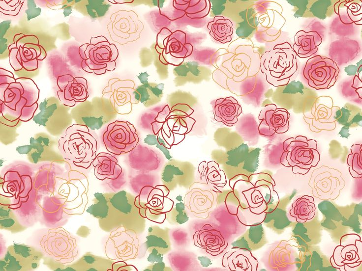 Iphone Wallpaper Floral Pattern