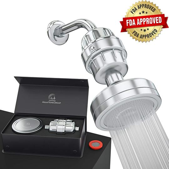 AQUAHOMEGROUP PRODUCTS REVIEW:FILTERED SHOWER HEAD FOR HEALTHIER SKIN, HAIR,BODY