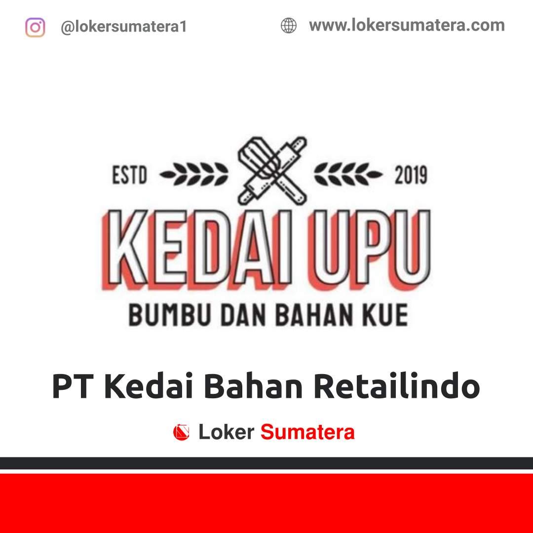Lowongan Kerja Pekanbaru: PT Kedai Bahan Retailindo Desember 2020