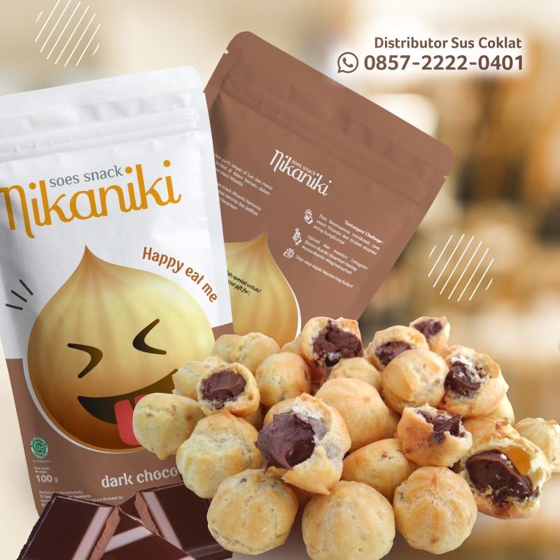 Info Distributor Camilan Kekinian - Snack Sus Kering Isi Coklat Kemasan Murah, Enak, Laris Dan Menguntungkan