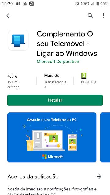 Como ligares o teu Smartphone ao Windows 10?