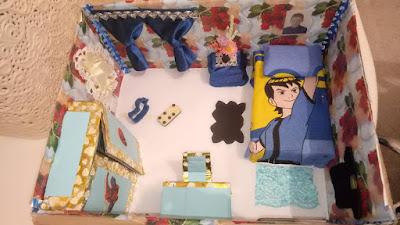 مشروع غرفة النوم السنة الثالثة ابتدائي الجيل الثاني