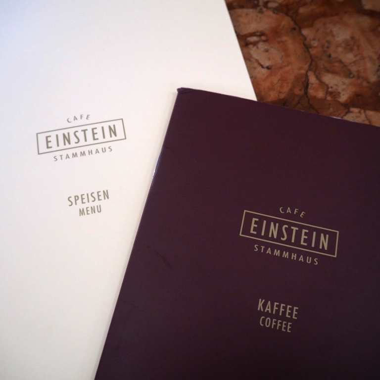 einstein cafe menu