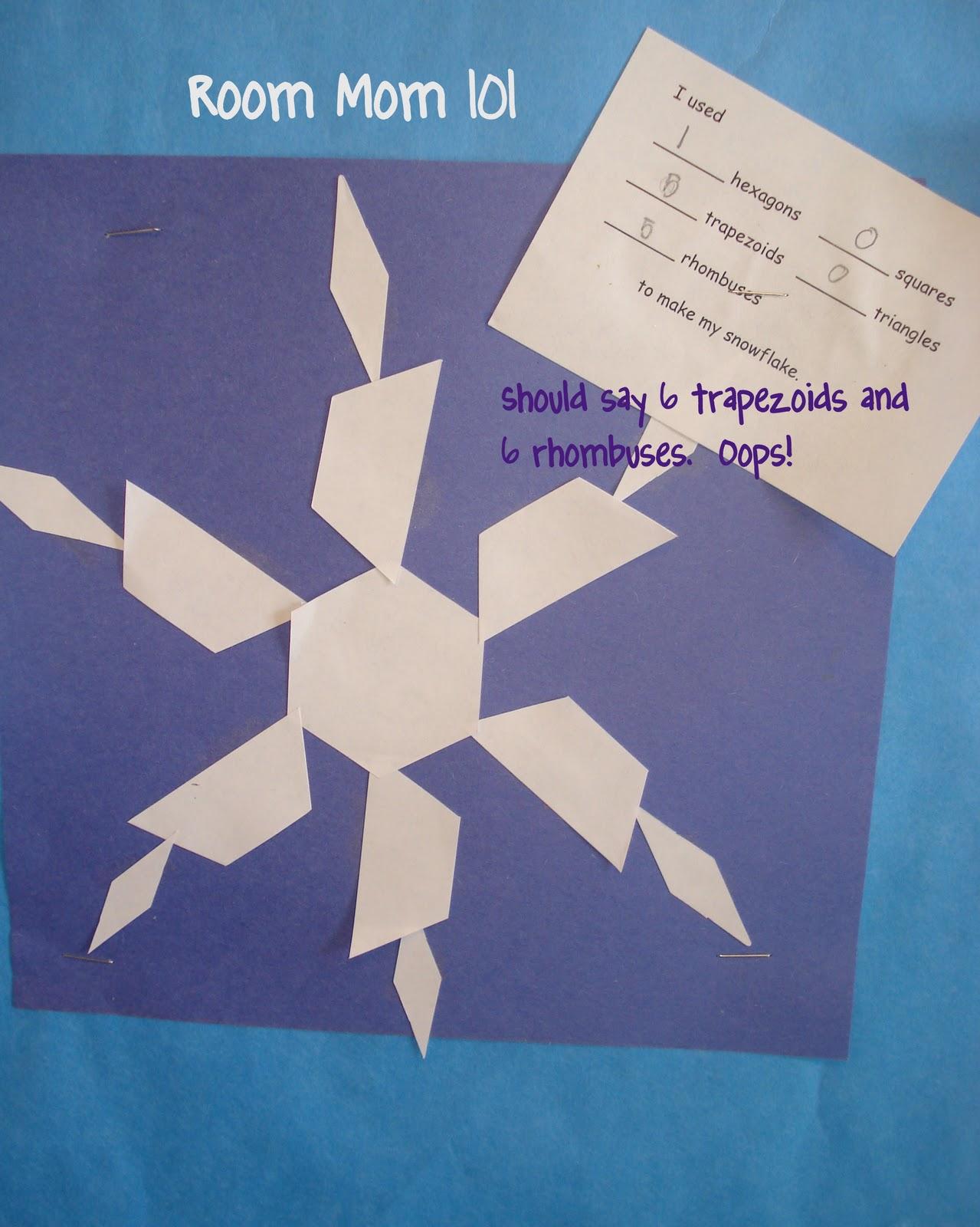 Room Mom 101 Fun With Geometry