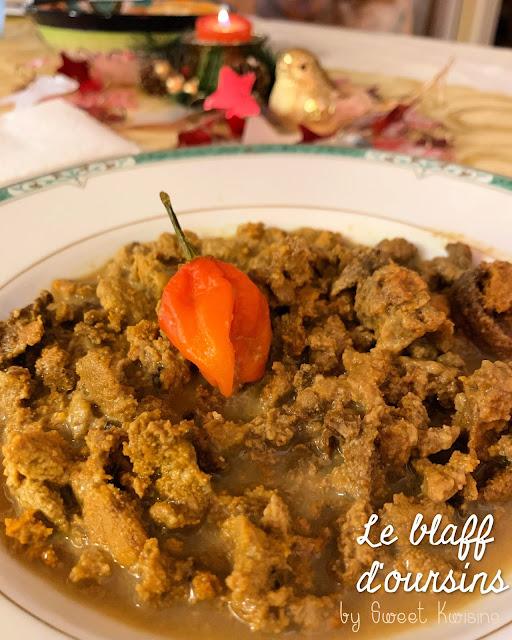 sweet Kwisine, oursins blancs, martinique, blaff, court-bouillon, cuisine antillaise, piment, chadwon,
