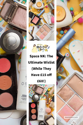 Space NK: The Ultimate Wislist (While They Have £15 off £60!) SpaceNK Sale, Becca, Hourglass, Diptique