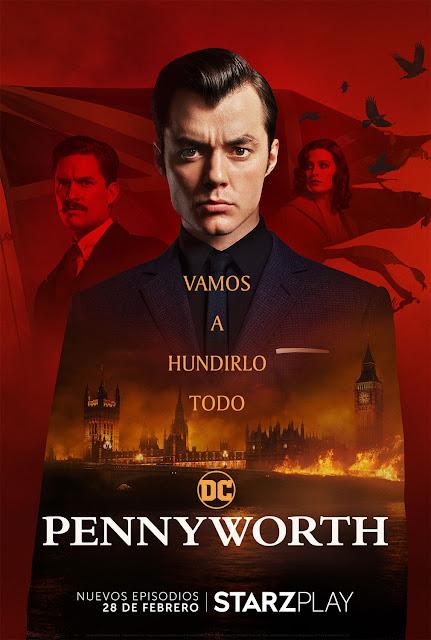 Cartel Pennyworth Temporada 2