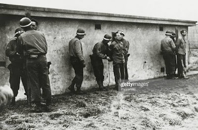 US Army Execution of Nazi spies 1945