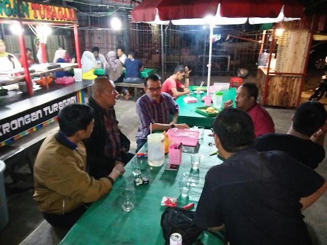 Diskusi dengan Awak Media, Desri: Pembangunan Jangan Hanya di Pusat Kota Saja