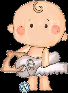 bebé para baby shower