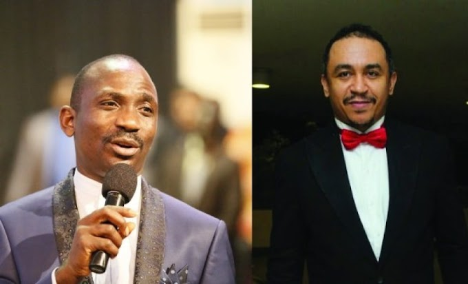 Pastor Enenche fires back at Daddy Freeze called him a 'Mad' dog for calling Bishop Oyedepo a 'Bald–headed fowl' (video)