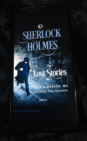 #WhatAreYouReadingWednesday (11): Sherlock Holmes: The Lost Stories by John H. Watson, Edited by Tony Reynolds