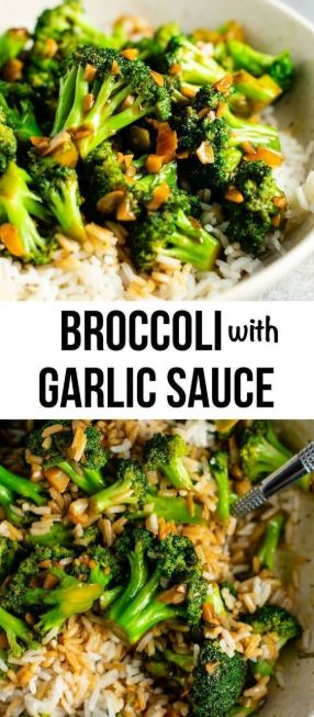Broccoli stir fry recipe – this is so easy to make and the stir fry sauce is o