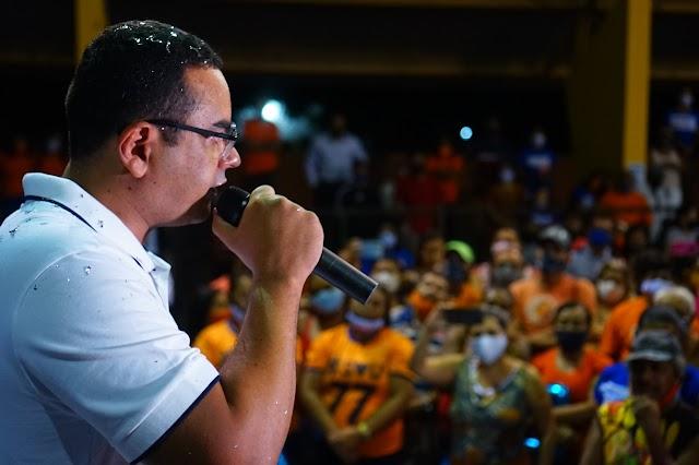 Mozaniel e Enéas são candidatos a prefeito e vice pelo Solidariedade