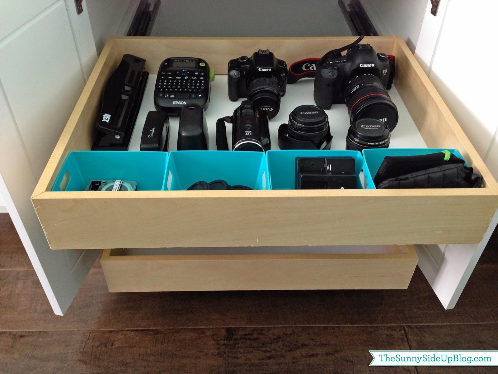 Organizing Camera Equipment - The Sunny Side Up Blog