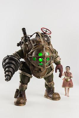 "Big Daddy y Little Sister 1/6 de ""Bioshock"" - Threezero"