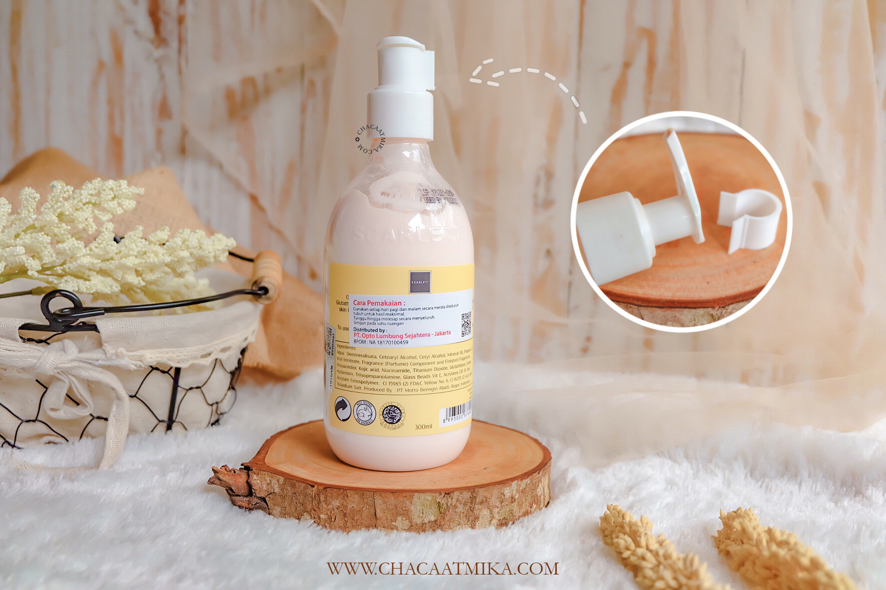Harga Scarlett Whitening Body Lotion
