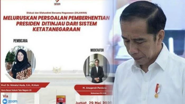 Jokowi dan Urungnya Diskusi Pemakzulan