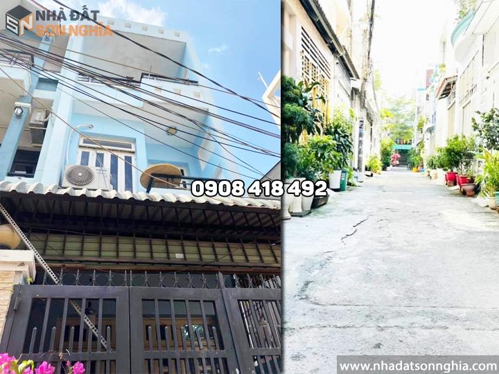 Bán nhà Gò Vấp hẻm 84 đường Bùi Quang Là phường 12