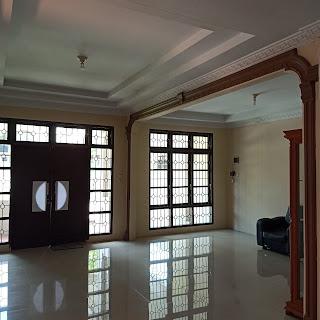 Ruang tamu 2 rumah 2 lantai di Perumahan Citra Wisata Jl. Karya Wisata Medan Johor Medan Sumatera Utara