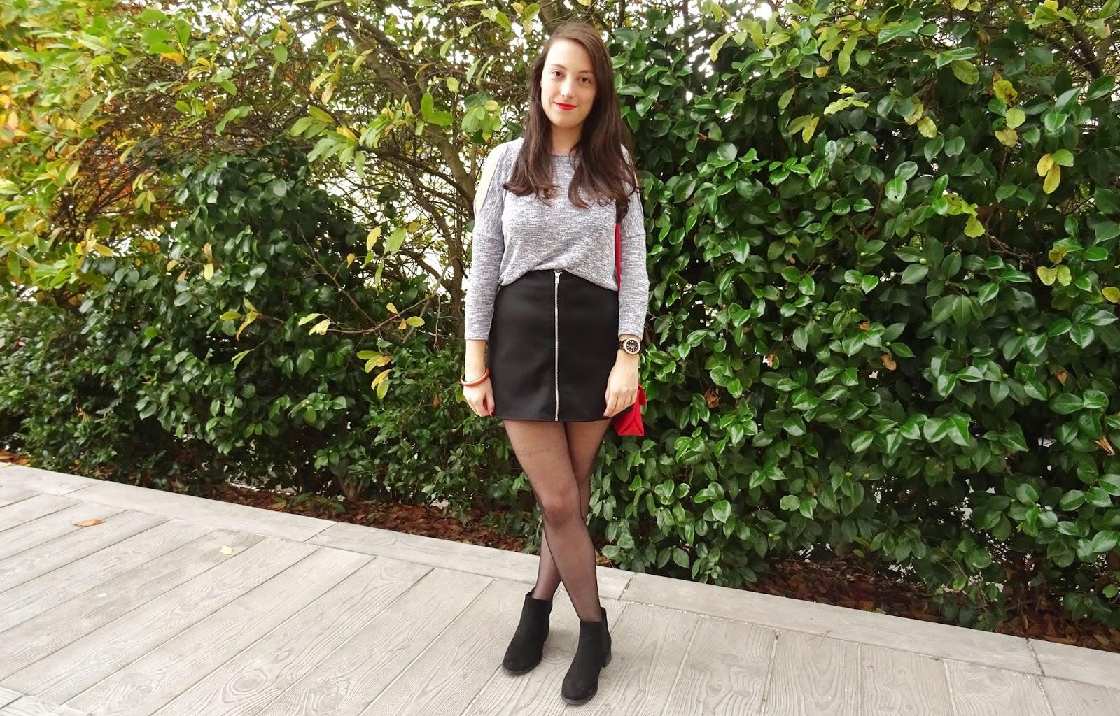 Look : Le cas de la jupe zippée