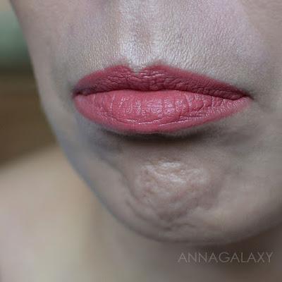 Как выглядит помада на губах Velvet Matte Lipstick D03 Chawla Imagic PROfessional Cosmetics