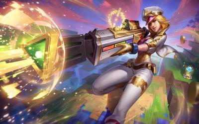 Caitlyn Fusil Laser - League of Legends - Fond d'écran en Full HD 1080p