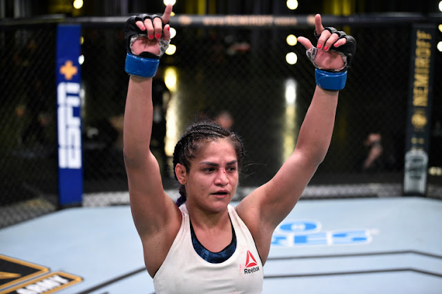 Cynthia Calvillo UFC On ESPN 10