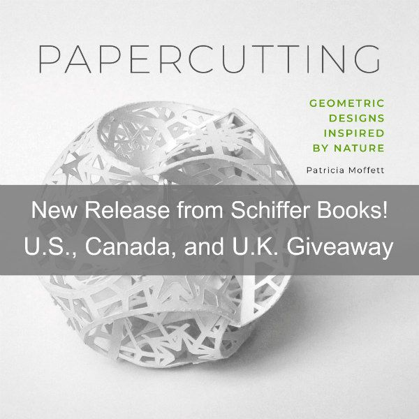 cover of Papercutting: Geometric Designs Inspired By Nature