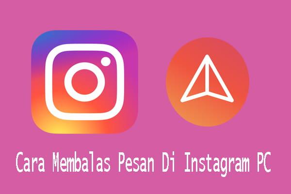 cara melihat dm instagram di browser
