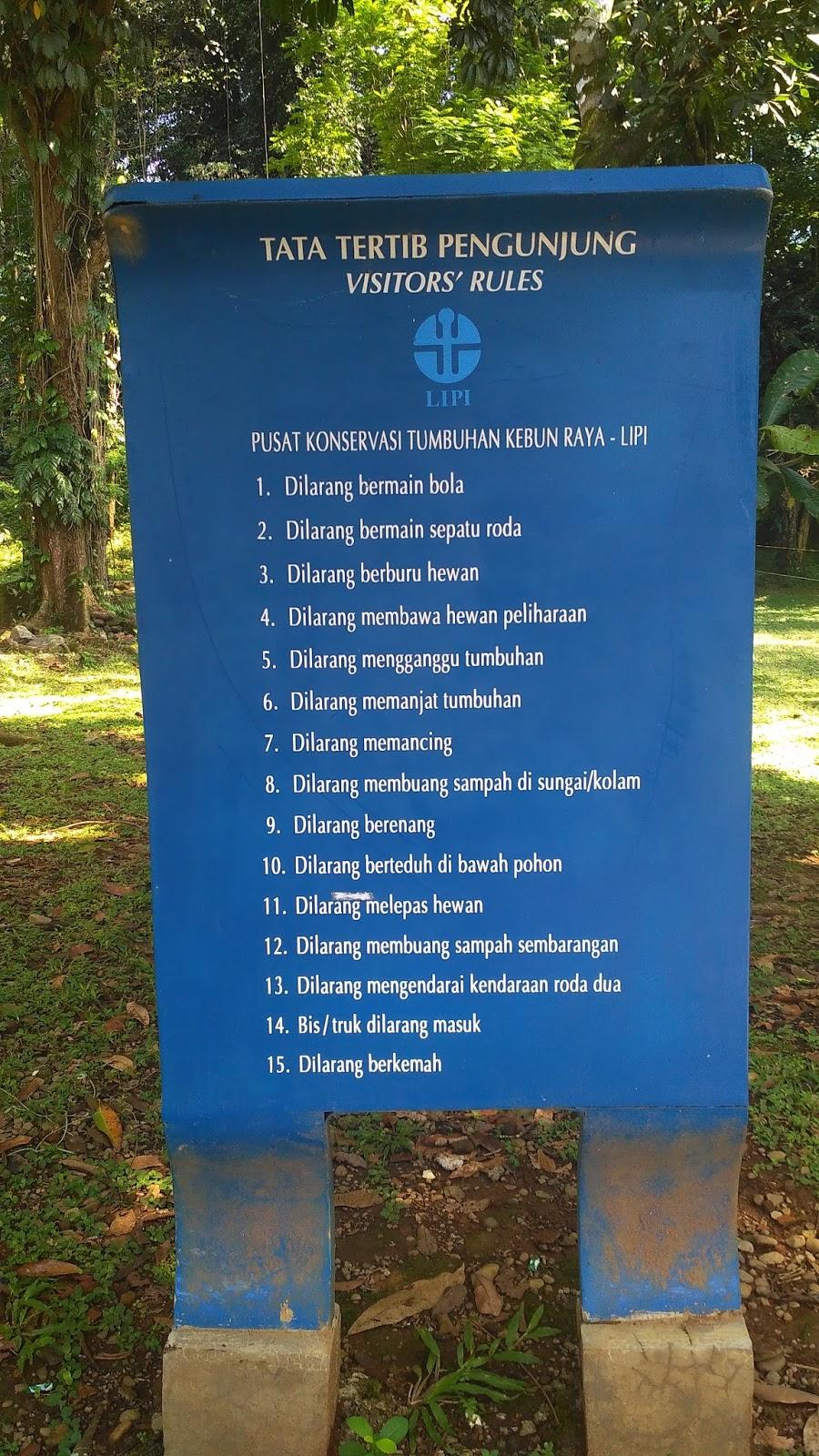 Wisata Kebun Raya Bogor (Tiket Masuk, Kuliner, Hotel, Misteri)