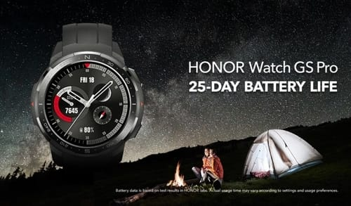 Honor has announced the launch of the Watch GS Pro and Watch ES smartphones