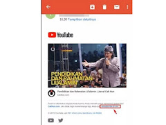 Cara Menonaktifkan Notifikasi Email YouTube di Android dan Laptop