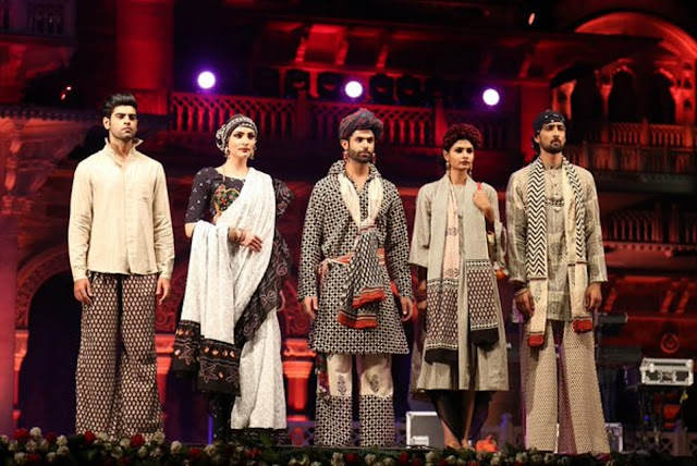 India Runway Week Season 7 goes International– Khadi on ramp by Bibi Rusell