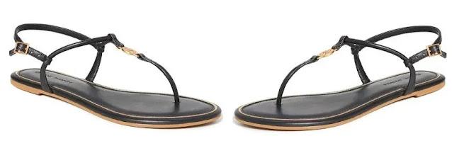 5. Tory Burch Women's Emmy Flat Sandals