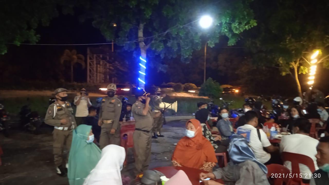 Gelar Patroli, Satgas Covid-19 Kota Batam Tegur Belasan Pelaku Usaha Yang Lalai Menerapkan Prokes