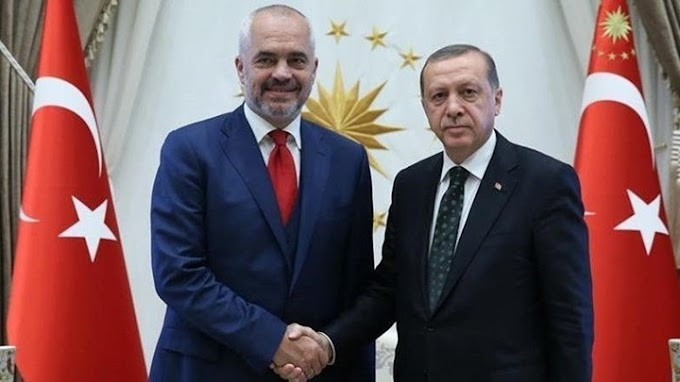 Ο Ερντογάν απλώνει τα πλοκάμια του για να 'πνίξει' την Ελλάδα! Δωρεά εξοπλισμού αξίας 1,5 εκ. δολ. από την Τουρκία στην Αλβανία