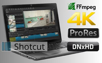 Shotcut Open Source Video Editor.