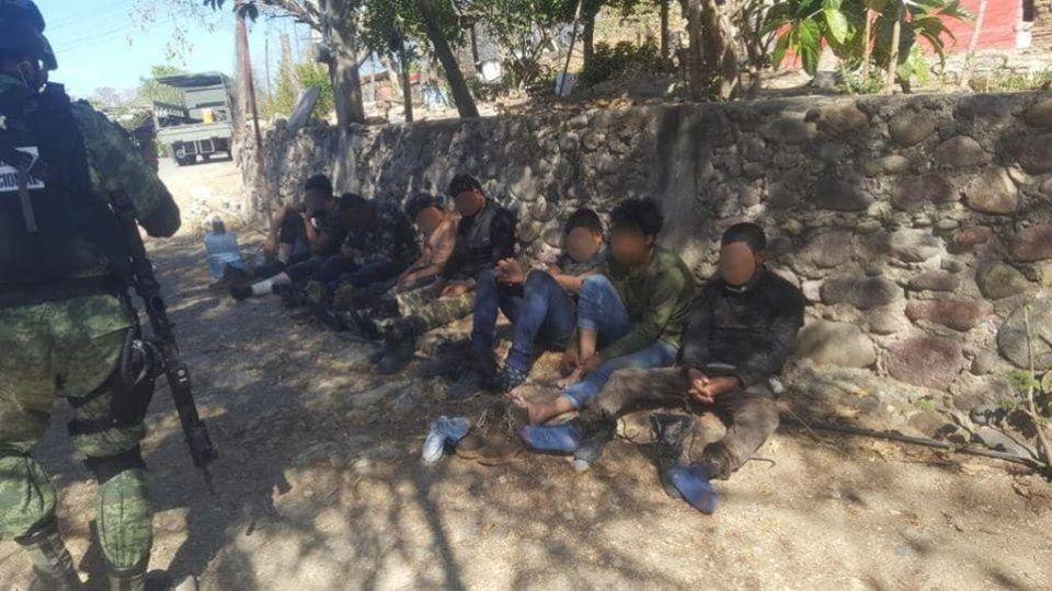 Detienen a 18 Sicarios en el municipio de Zirámdaro; Guerrero