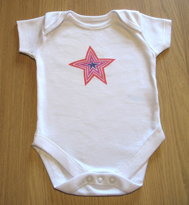 pink star onesie