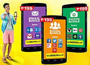 List of Sun Cellular Mobile Internet iBundles Promos