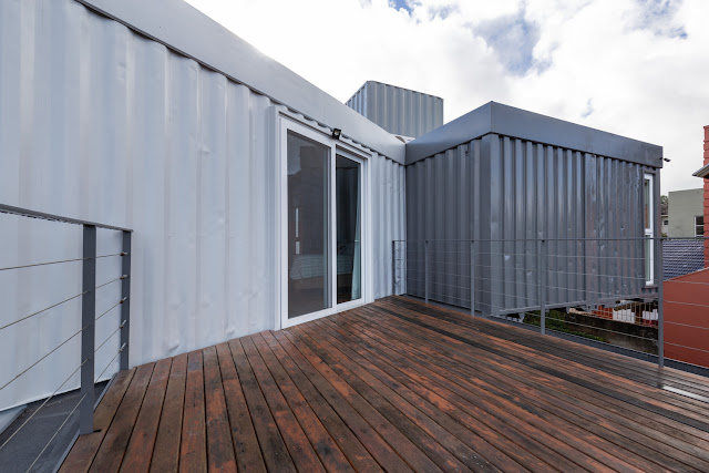 Casa Conteiner RD - 350 sqm Two Story Shipping Container Home, Brazil 17