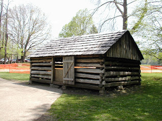 A fully-operational replica of a late 1800's blacksmith shop.