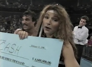 WCW SUPERBRAWL VI 1996 - Johnny B. Badd won $6 million from DDP for The Diamond Doll
