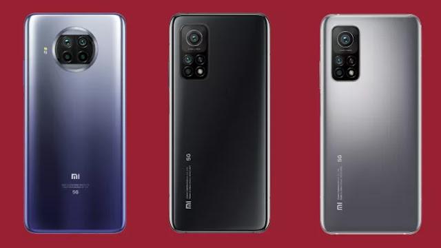 سلسلة هواتف Xiaomi Mi 10T