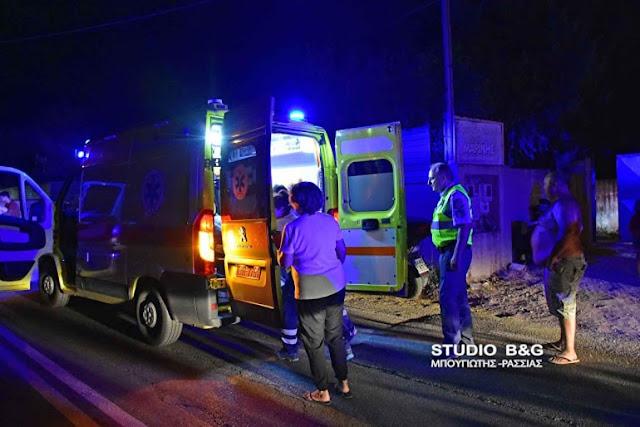 Αργολίδα: Τροχαίο με σοβαρά τραυματία δίκυκλου στο Άργος