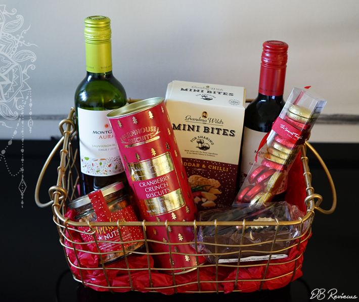 The Merry Christmas Basket from Virginia Hayward
