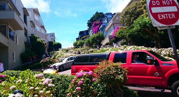 Crooked Street Lombard Street San Francisco