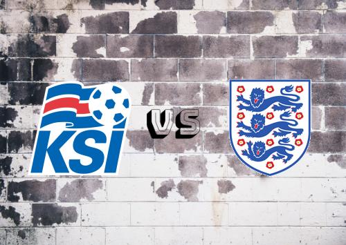 Islandia vs Inglaterra  Resumen y Partido Completo