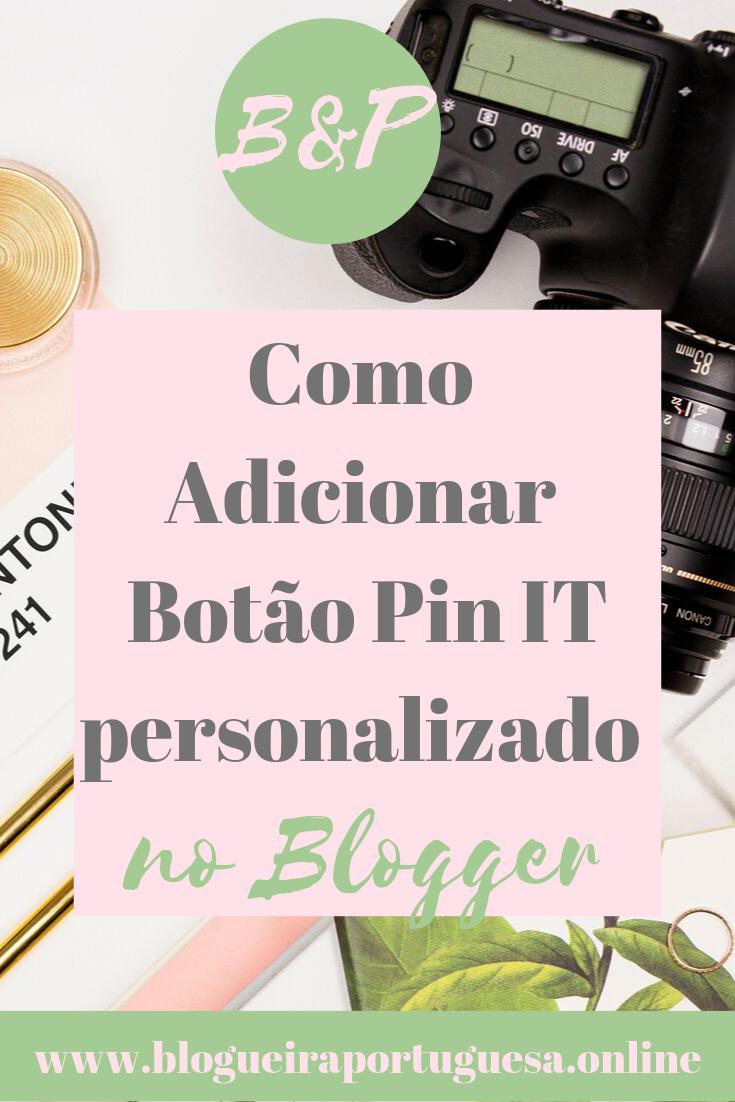 Personalizar Botão Pin It Blogger (ALT)